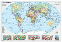 Stiefel Eurocart Kft.: A Föld országai falitérkép | bookline