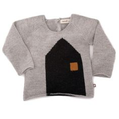 House knitted sweater - Oeuf
