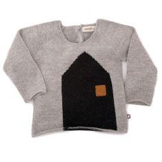 House knitted sweater - Oeuf - Via Brebi