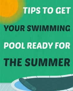 Here are 10 tips to help you open your pool and get ready for another fantastic summer. Above Ground Pool, In Ground Pools, Swimming Pool Maintenance, Pool Care, Pool Toys, Pool Cleaning, Pool Decks, Splish Splash, Cool Pools