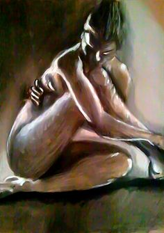 Nude Study 6 by rossgipson678.deviantart.com on @deviantART