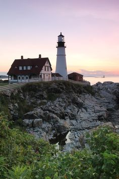 Portland Head Light by Adam Clark, via 500px