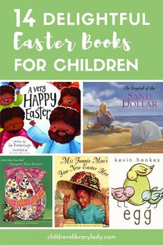Easter is on its way and it's always good to have a few books ready to read. Whether it's about the Easter bunny or more spiritual we have you covered. #childrenslibrarylady #booklists #childrensbooks #picturebooks #easter #easterkidsbooks #easterbooklist