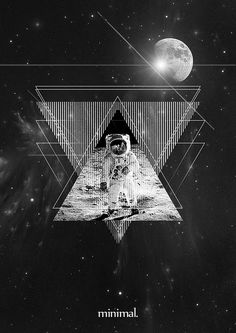 galaxy triangles on behance - Google Search