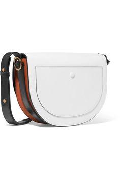 5aab7eb5ee5c Victoria Beckham - Half Moon Box color-block leather shoulder bag