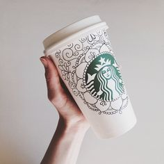 Starbucks cup doodles