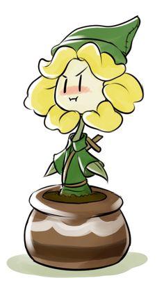 Zeldatale ( Undertale x The Legend of Zelda ) Crossover Undertale Flowey, Undertale Fanart, Frisk, Flowey La Flor, Dark Flower, Flowey The Flower, Pokemon, Toby Fox, Underswap