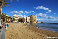 El Cura is beach in Torrevieja, Alicante, Spain. Map and Photos for El Cura and other beaches in the area are available. Torrevieja Spain, Winter Sun, European Travel, Places Ive Been, Beaches, Things To Do, Places To Visit, Street View, Water