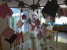 decorations - pages from picture books