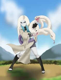Shira Hebi, the white snake. She is the daugther of orochimaru. Her name derives from shiro hebi, so I changed it to a girl name. Shira Hebi - The daughter of orochimaru Naruto Girls, Naruto Shippudden, Madara Uchiha, Angel Protector, Anime Ninja, Naruto Shippuden Characters, Naruto Pictures, Anime Oc, Daughter