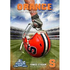Cuse University 2010 pins. Bowl Large Unframed Poster New York¿¿¿s College Team