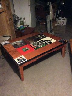 Album Cover Coffee Table