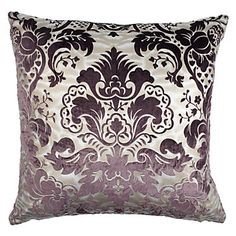 Juliette Pillow - Aubergine 24"