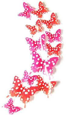 599 allicere 12pcs 3d butterfly removable wall decals diy home decorations art decor wall stickers - Diy Entfernbarer Backsplash