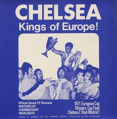 chelsea fc kings of europe, nbd we just share the same name