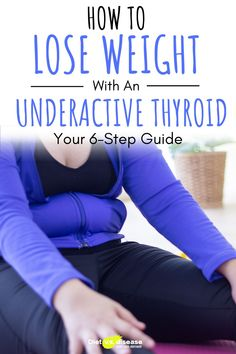 Losing weight and keeping it off can be a struggle. Especially if you have an underactive thyroid. Your metabolism has slowed down and you're almost always feeling tired. But if you break down the process into small steps, and tick each box as you go, weight loss comes much easier. This guide covers the 6 fundamental steps required to successfully lose weight with an underactive thyroid. #health #dietitian #nutritionist #loseweight #thyroid Thyroid Diet, Thyroid Health, Thyroid Disease, Nutrition Education, Nutrition Tips, Health Advice, Health And Wellness, Losing Weight, Weight Loss