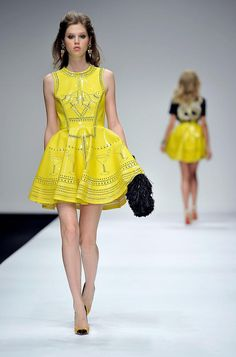 Spring+Summer+Fashion   ... Spring/Summer 2011 fashion show. (Gareth Cattermole/Getty Images