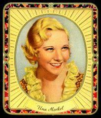 German Cigarette Card - Una Merkel | by cigcardpix