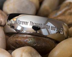 Tungstène anneau 8mm dôme médecin qui par FANaticCreations sur Etsy, $49.00