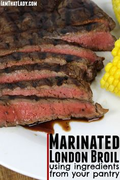 Looking for a cheap and easy cut of meat to grill? This london broil marinade uses ingredients that probably already have in your pantry!