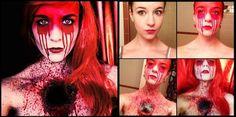 les maquillages effrayants de stephanie fernandez 4   Les maquillages effrayants de Stephanie Fernandez   Stephanie Fernandez photo maquilla...