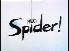 Spider in the bath - we love this song!