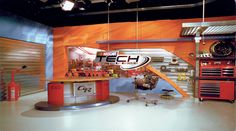 FOX Nascar Set Design - Sports Sets - Broadcast Design International, Inc. Set Design, Nascar, Fox, Cinema, Studio, Wallpaper, Sports, Home Decor, Projects To Try