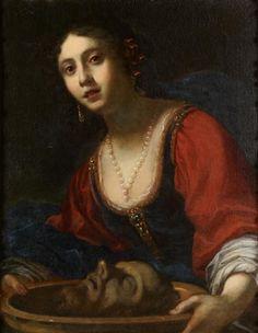Attribué à Cesare DANDINI (1595 - 1656 ou 1658). Salomé - Alain R. Truong