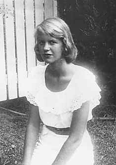 Sylvia Plath. Oh my, her eyes portray all that sadness so vividly here