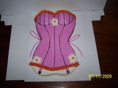 For a bachelorette party... how awesome would it be to eat a corset.. hmmm... quite neat!
