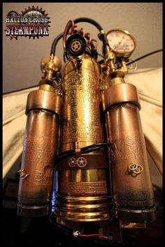 Steampunk Jetpack aka The Morgan Aeronautical Destroyer of Satans Arrogance. $2,000.00, via Etsy.