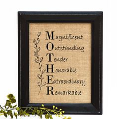Mothers day from daughter Gifts For Mother by BlessedHomesteadShop