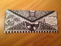 doodles are great!! always beautiful! envelope art:)