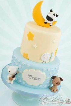 Adorable nursery rhyme cake