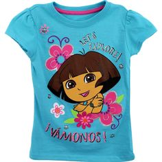 Girls Dora Tees, available in sizes Toddler-6x $4.99 {posted 4/2/13} #cititrends #dora