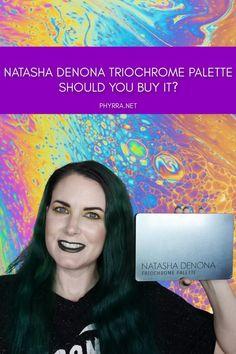 Natasha Denona Triochrome Eyeshadow Palette - Should You Buy It? Neutral Eye Makeup, Bright Eye Makeup, Subtle Makeup, Colorful Makeup, How To Match Foundation, Glow Foundation, Rainbow Makeup, Rainbow Hair, Duochrome Eyeshadow