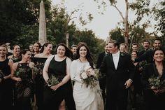 Nighttime wedding at Vizcaya Museum & Gardens in Miami