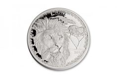 2014 Serengeti Lion Big 5 1-oz Silver NGC PF70