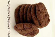 Piernikowe ciasteczka z kawałkami czekolady