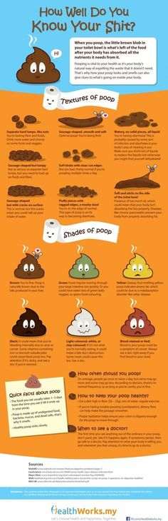 Know your Poop - How Well Do You Know Your Shit?