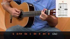 Chão de Giz - Zé Ramalho (aula de violão completa)