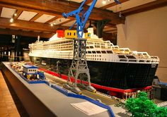 Cruise ship ....so incredible, you might not believe it's made with Legos.