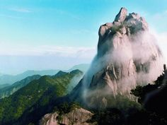 Hengshan Mountain is named the Southern Mountain of the Five Sacred Mountains