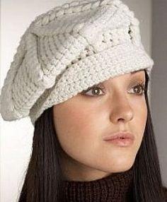 toucas de inverno femininas em croche 2 Touca Boina De Croche 5cbd94fed05