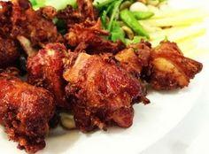 สูตรการทำอาหารไทย: แหนมซี่โครงหมูทอด
