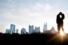 Piedmont Park Engagement Session by The Studio B Photography