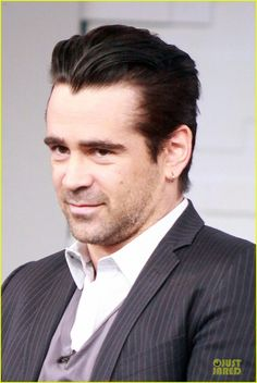 Colin Farrell I love it when he has this sly smile.......help me!