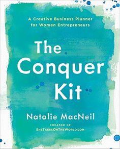 The Conquer Kit: A Creative Business Planner for Women En... https://www.amazon.com/dp/0399175776/ref=cm_sw_r_pi_dp_U_x_YftxAbM4T1ZJ6 Business Planner, Self Help, Creative Business, Doula, Entrepreneur, Life Coaching