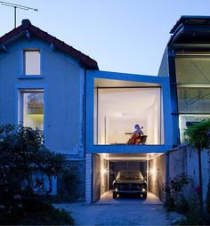 Extension To A House In Chaville by Cut Architecture