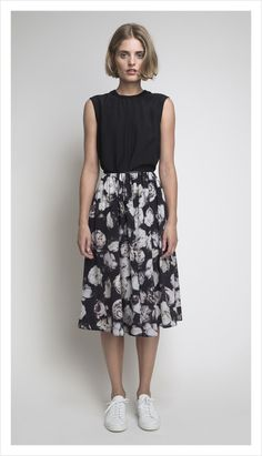 dior skirt (bed of roses)